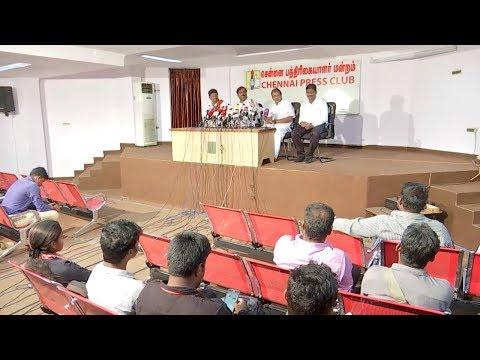 பத்திரிகையாளரியிடம் சண்டை போட்ட Velmurugan | Press Meet | TVK