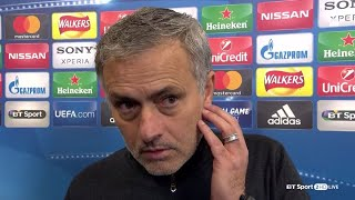 """I'm glad my players are sad!"" Mourinho speaks after Man Utd crash out of Champions League"