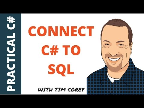How to connect C# to SQL (the easy way)