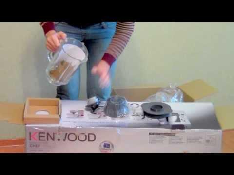 Кухонный комбайн KENWOOD KMC 010 (распаковка часть2 блендер)