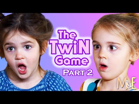 THE TWIN GAME! PT. 2 | MILA & EMMA