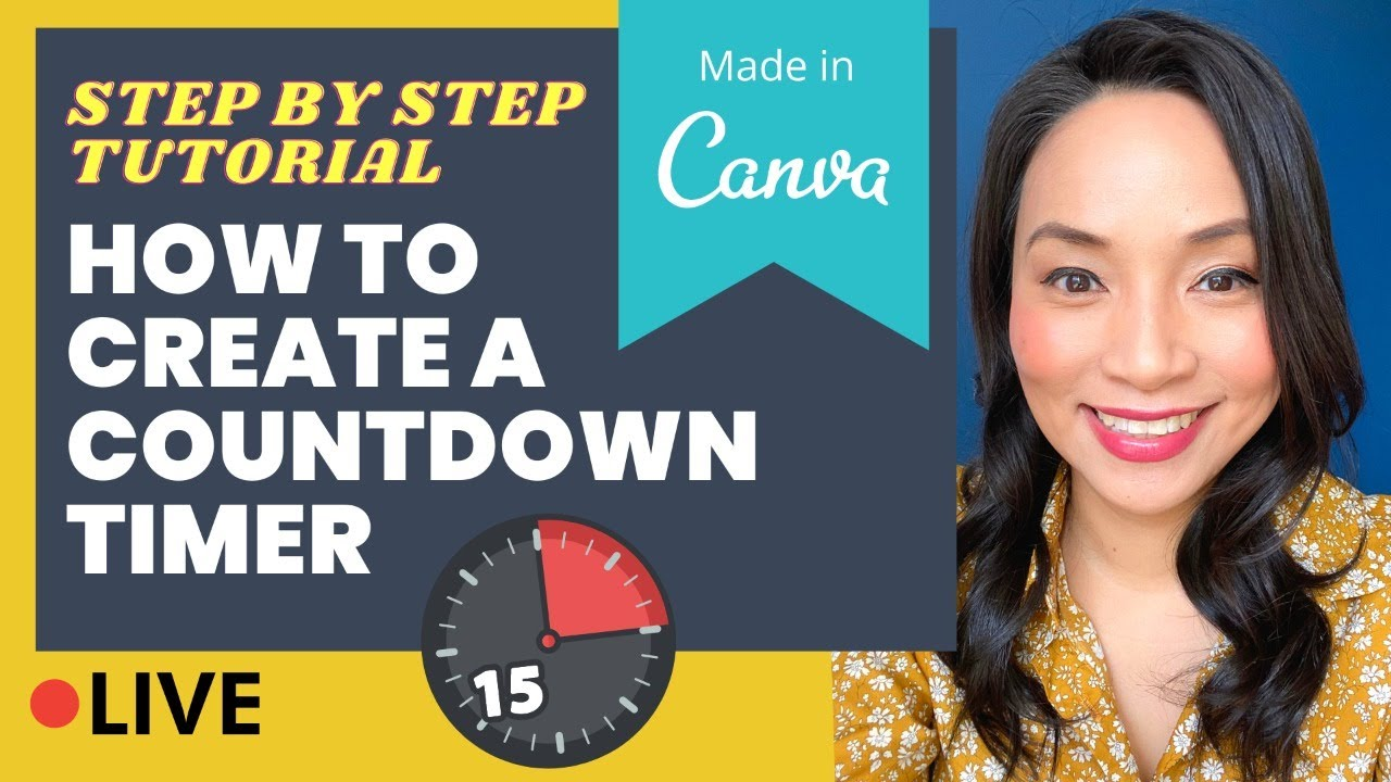 Download How to create a countdown timer (Step by step Canva tutorial - so easy!)