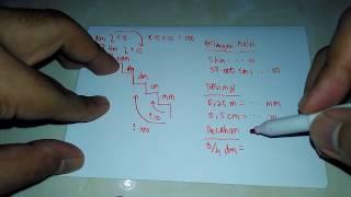 Mengenal Tangga Satuan Jarak ( Km - mm )