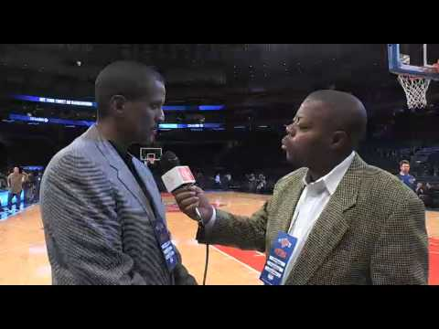 ESPN- NBA TV Sportscaster David Aldridge Interview.