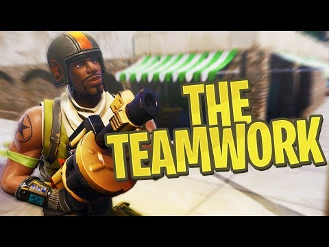 THE TEAMWORK! - PS4 Pro Fortnite Duos!