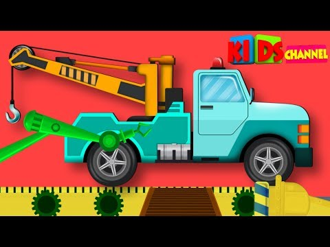 Tow Truck Toy Factory | Cartoon Videos For Toddlers | Nursery Rhymes For Babies by Kids Channel