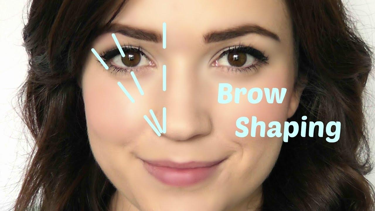 Eyebrow Shaping Youtube