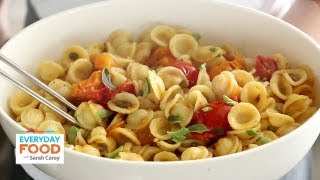 Pasta With Roasted Tomatoes And Capers - Everyday Food With Sarah Carey