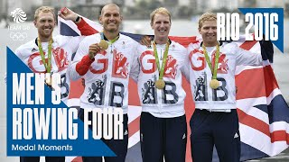 Rio Medal Moments: Men's Four - Gold | Rowing