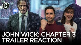 John Wick: Chapter 3 - Parabellum Trailer Reaction