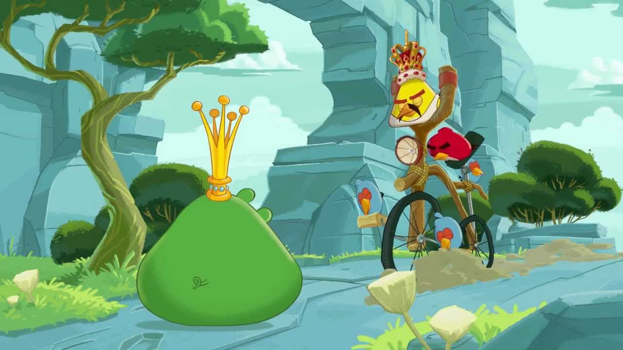 Angry Birds Join Freddie For A Day YouTube