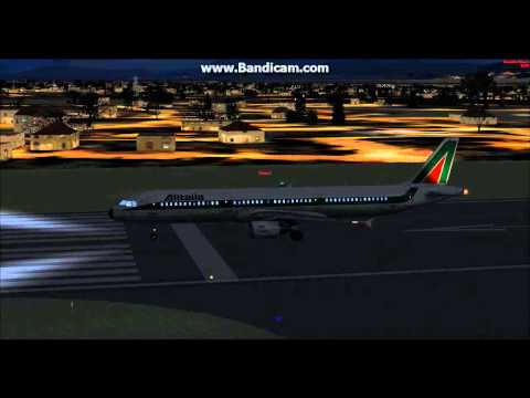 Naples-Airport Václava Havla-Ruzyne (Fsx Full Flight) (CZ) Part 1 Taxi and Take-Off.