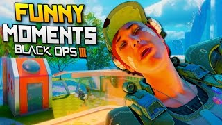 Black Ops 3 Funny Moments - Random Sound Effects, 1000 Degree Knife, Pizza Shooter (BO3)