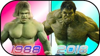 EVOLUTION of HULK in Movies (1988-2018) Bruce Banner History Hulk Avengers Infinity War