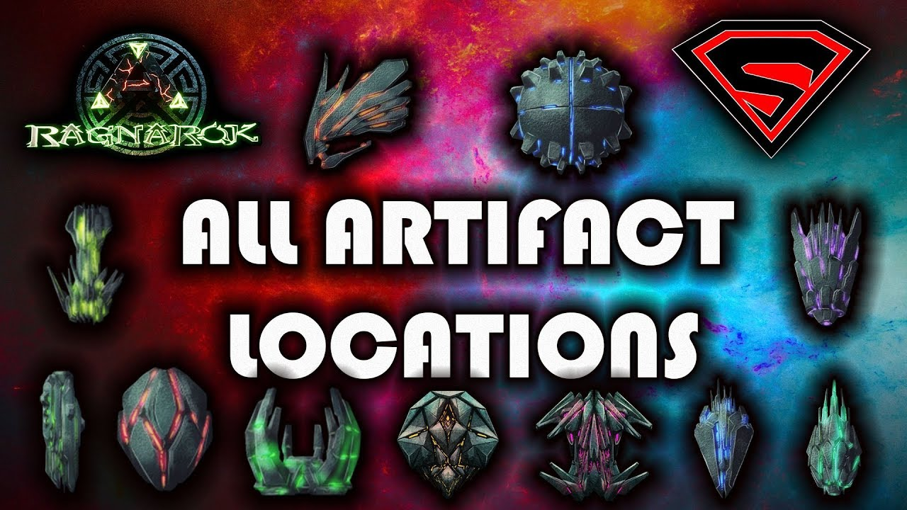ARK RAGNAROK: ALL ARTIFACT LOCATIONS AND COORDINATES AND HOW TO GET THEM by  Sethum
