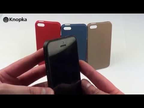 Чехлы для iPhone 5 Ozaki O!coat 0.3 Solid и Ozaki O!coat 0.3 Jelly