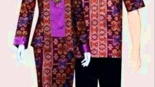 model baju batik couple terbaru 2016 modern terpopuler youtube