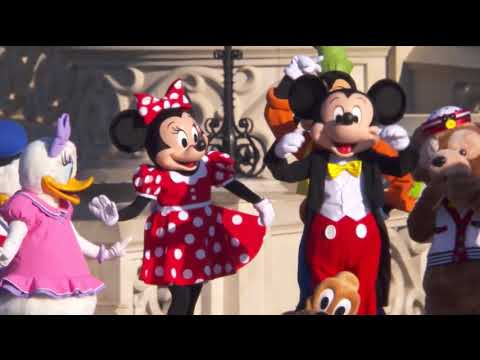 Disneyland Paris 25th Anniversary opening show April 12th 2017