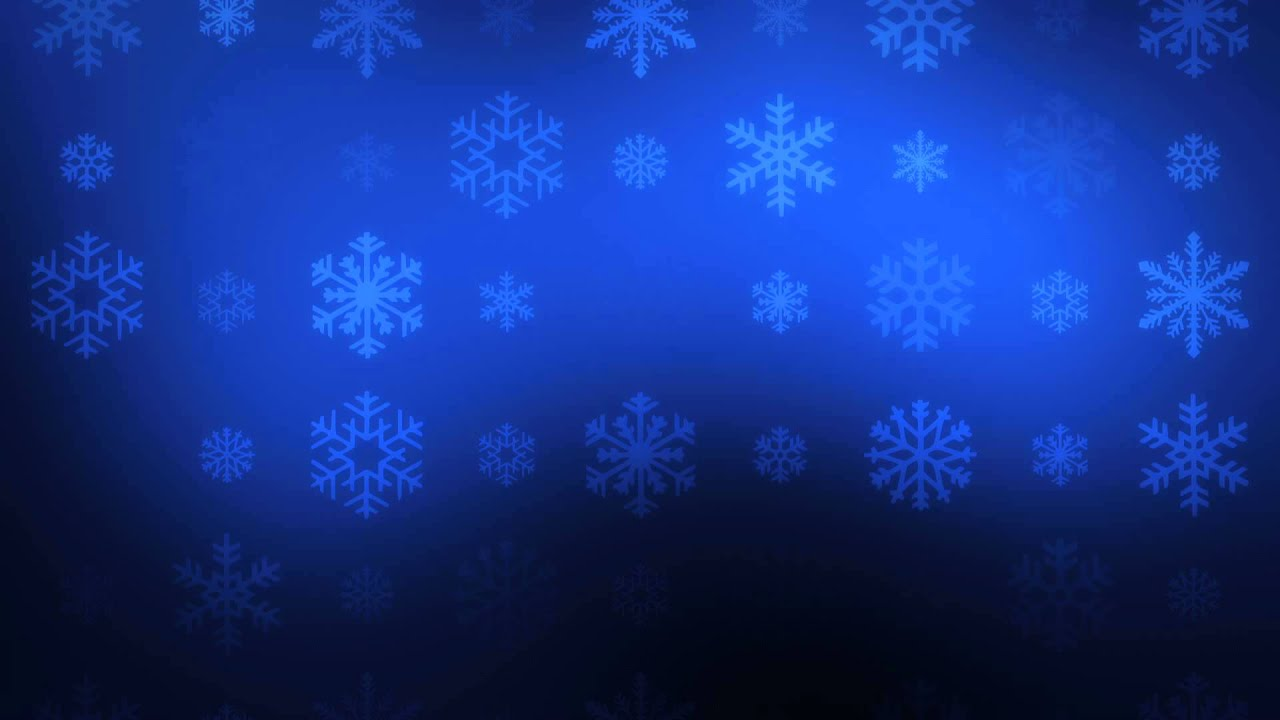 Free Animated Desktop Wallpaper Like Snow Falling On Background Falling Snowflakes On Blue Hd Video Background Loop
