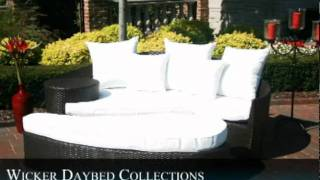 Wicker Daybed Collections