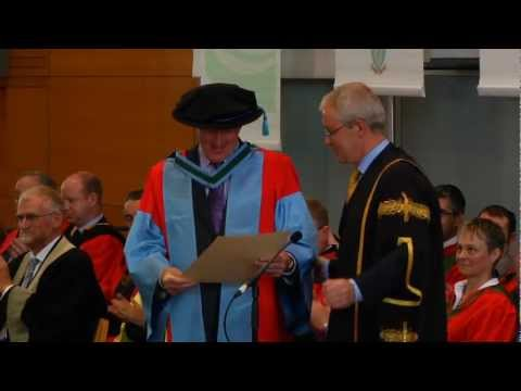 September 2012: Conferrings & Honorary Degrees at University College Dublin