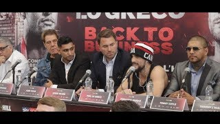 AMIR KHAN v PHIL LO GRECO - *FULL* UNCUT FINAL PRESS CONFERENCE WITH EDDIE HEARN (& FULL UNDERCARD)