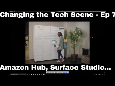 "Changing the Tech Scene - Ep 7 ""Surface Studio, Altspace VR , Hub Locker, Apple 5G and More"""