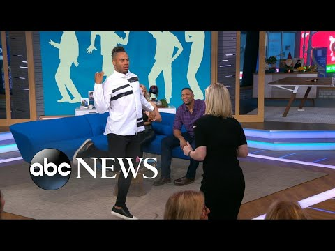 'GMA Day' holds a dance-off with Paige VanZant and Rashad Jennings