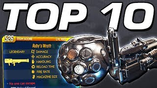 Borderlands 3 - TOP 10 CRAZY LEGENDARIES YOU NEED TO GET !!