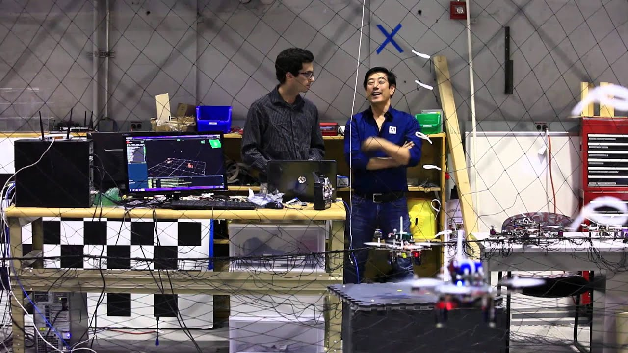 Field Robotics And Motion Tracking With Grant Imahara And Eric