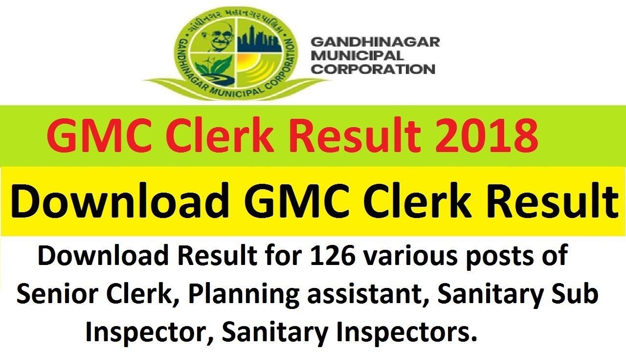Image result for GMC Clerk, Senior Clerk, Sanitary Inspector & Other Posts Provisional Merit List 2019