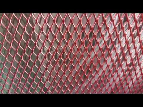 Видео Сетка мелкая ячейка оцинкованная