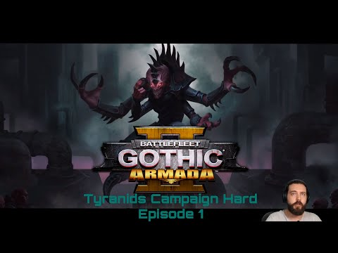 Let's play battlefleet gothic armada 2 with Damphyre | Tyranid Campaign, Hard| Episode 1 |