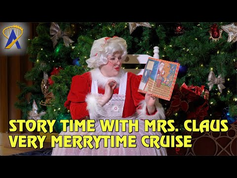 Story Time with Mrs. Claus - Very Merrytime Cruise on Disney Cruise Line