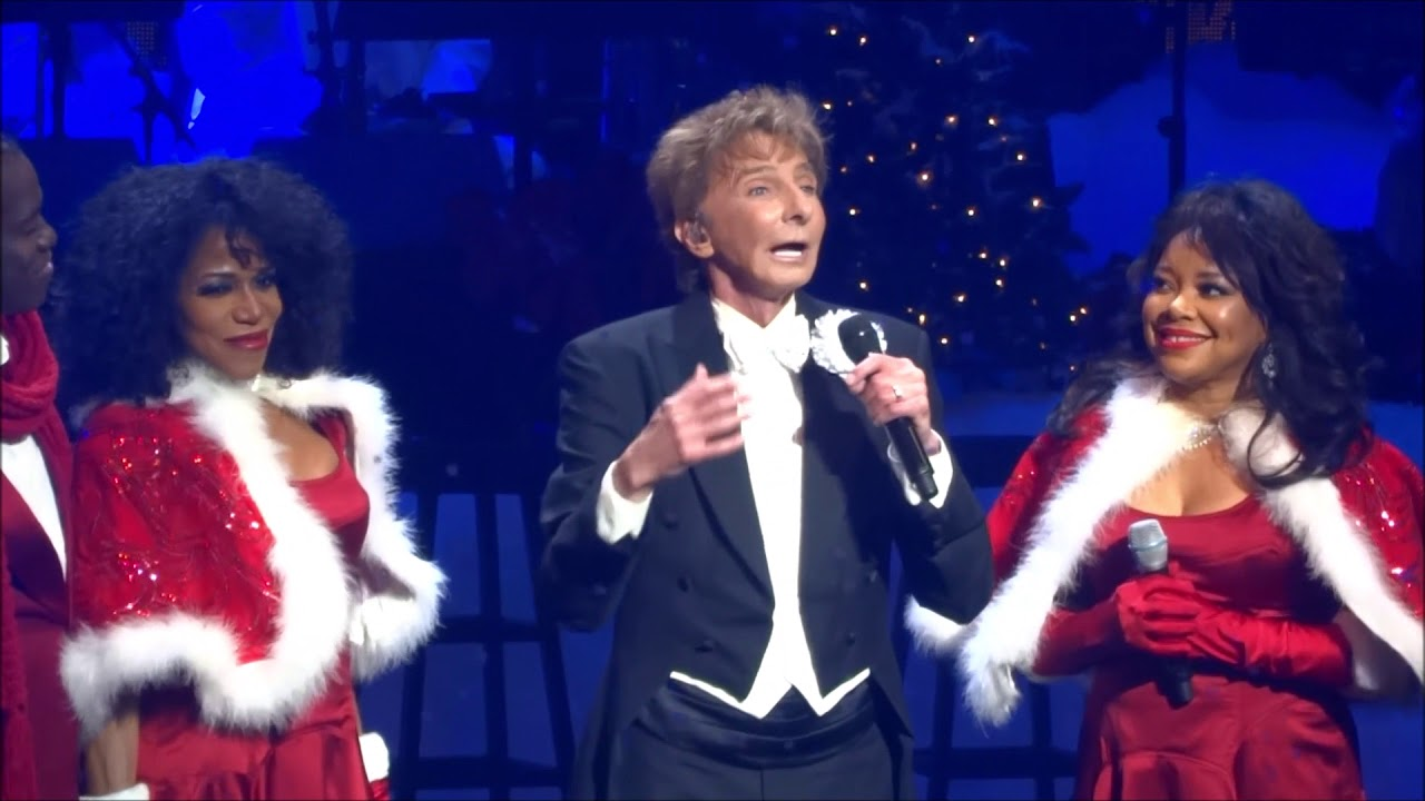 Barry Manilow Christmas Medley Live In Concert - YouTube