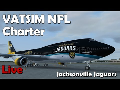 NFL Charter Flight (VATSIM) KJAX - KCLE (Jacksonville to Cleveland)