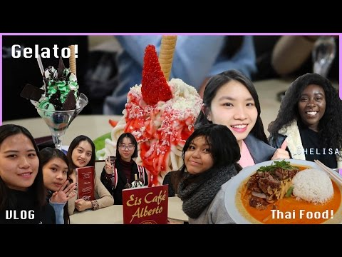 Thai food with new friends! // Exchange in Frankfurt Vlog 3