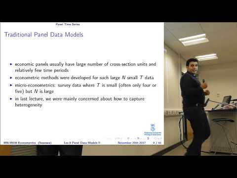 Lecture 8 Panel Data Models (Part II)