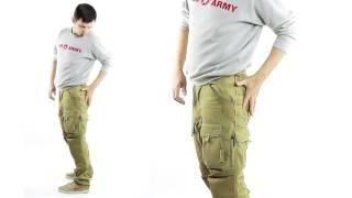 видео Штаны мужские с карманами по бокам