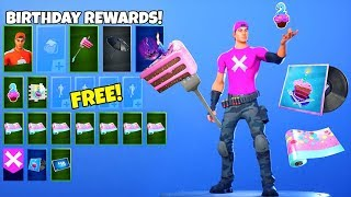 *FREE* Fortnite Rewards..! (Birthday Presents LEAKED) Fortnite Battle Royale