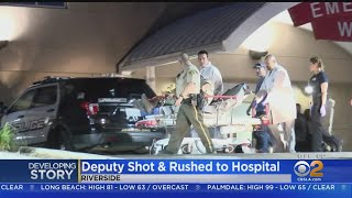 Suspect Killed, Deputy Wounded In Riverside Shootout