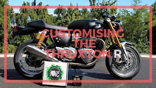 Motone X Pipe Review Triumph Thruxton R Backdraft Bikes Thewikihow