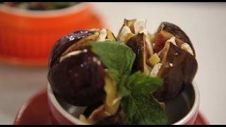 Инжир, запеченный с сыром камамбер. Рецепты счастья.
