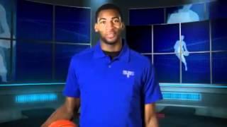 1巡目9位アンドレ・ドラモンド(ピストンズ)NBAドラフト2012