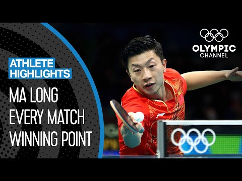Ma Long ???????? - The best Olympic table tennis player of the decade? | Athlete Highlights