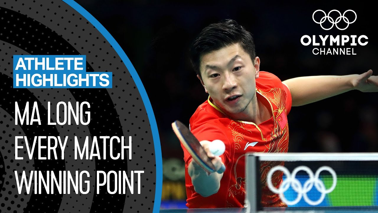 Ma Long 🇨🇳 - The best Olympic table tennis player of the decade? | Athlete Highlights