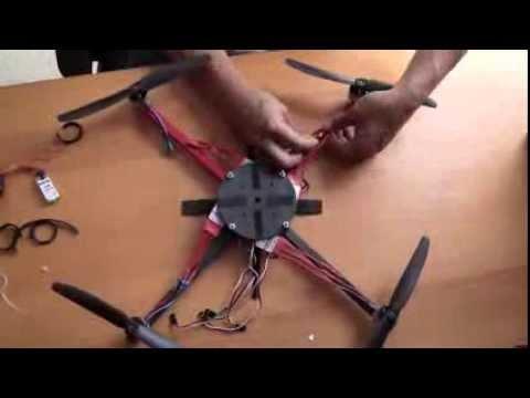 كيف تصنع طائرة رباعية بدون طيار Quadcopter Drone ؟ 2