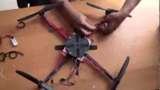 A DIY Quadcopter - Assembly - simple, cheap and easy. (Part 1 of 2)