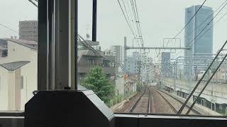 【前面展望】京急1500形(1707編成)京成曳舟〜押上