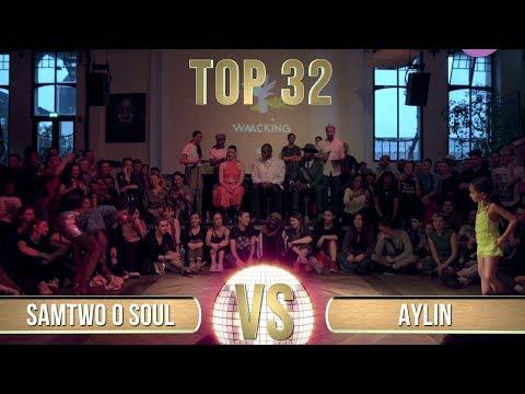 SAMTWO O SOUL (FRANCE) Vs AYLIN (KAZAKHSTAN)   WAACKING TOP 32   All Europe Waacking Festival 2020